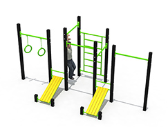 Street Fitness Gym Equipment